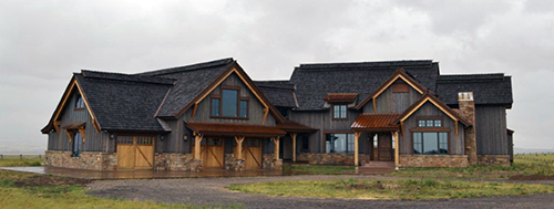 Custom Home in Teton Valley